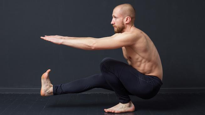 el pistol squat - un ejercicio de calistenia para las piernas