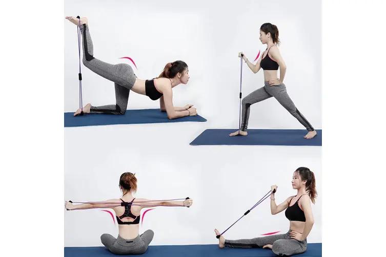 bandas elasticas para entrenar la calistenia