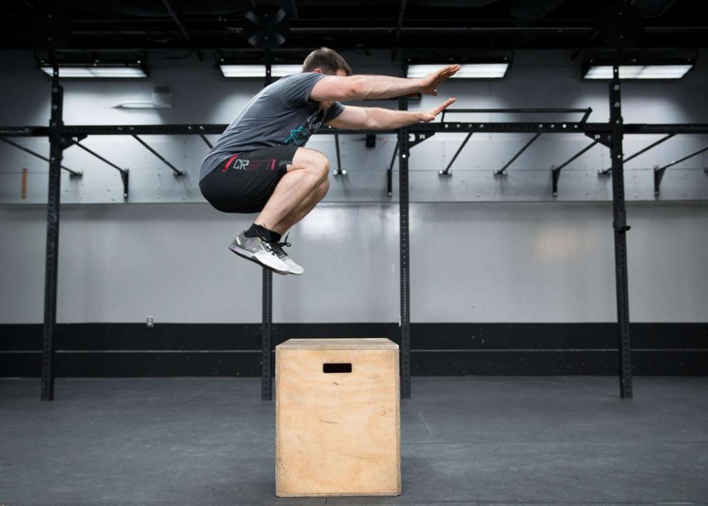 box jump para la calistenia