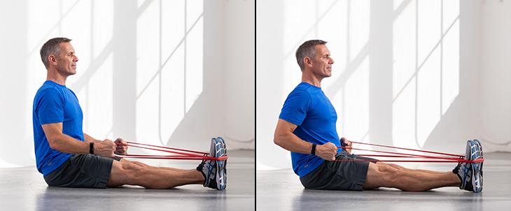 gomas elasticas y la flexibilidad